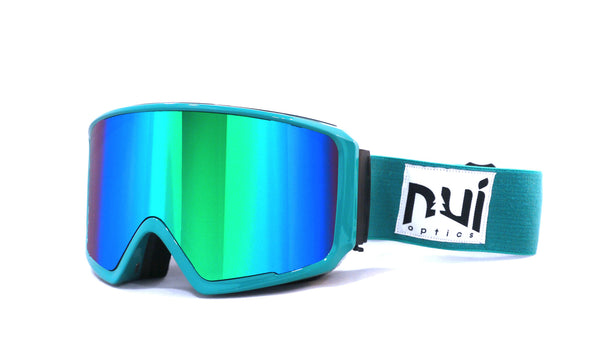 Pack Gafa Woods  Bluish - Sky / Bluish + Lente Foggy Yellow - Nui Optics