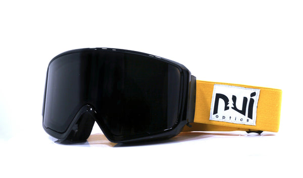 Gafas de esquí Woods Black - Night / Yolk - Nui Optics