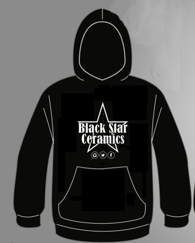 Black Star Ceramics Hoodie - Black Star Ceramics
