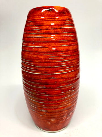 Phoenix from the flames 🔥 - textured Vase
