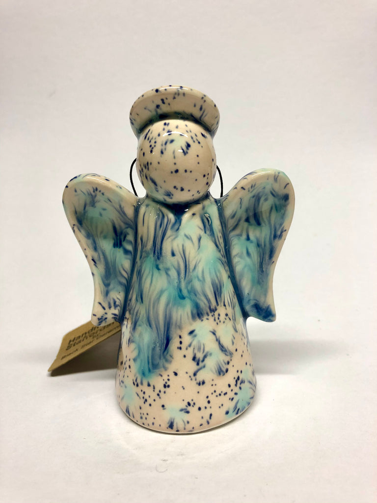 Angel Christmas decoration - Blue Orchid