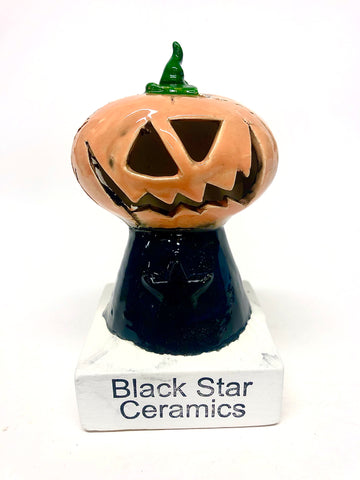 Pumpkin head Halloween 2020 Kiln Elf