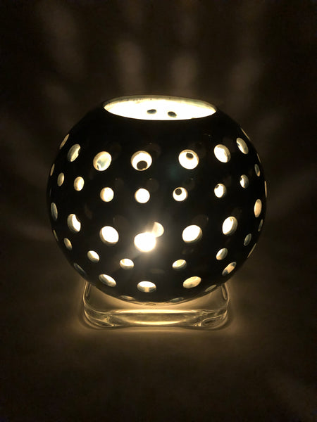Illumination Sphere - Rhapsody in Blue - Tea Light