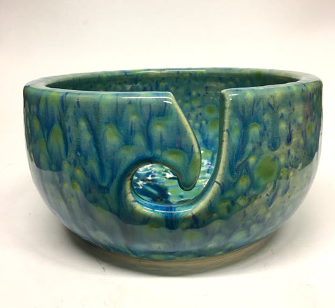 Large Yarn Bowl - Rhapsody in blue