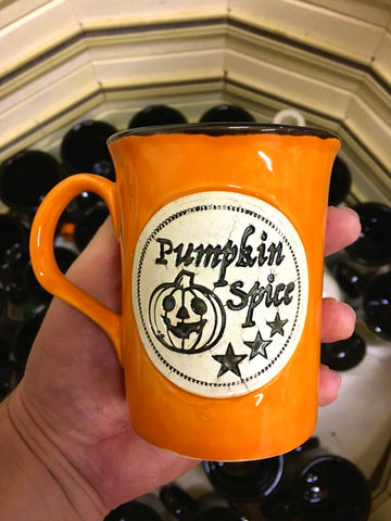 PUMPKIN SPICE mug 🎃 Orange and black