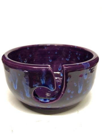 Large Yarn Bowl - Purple Rain