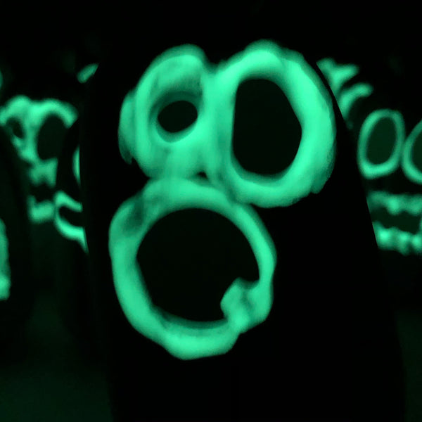 Glow in the dark Ghost Mini Pumpkins 👻