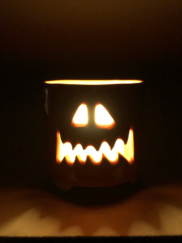 Halloween tea light holders
