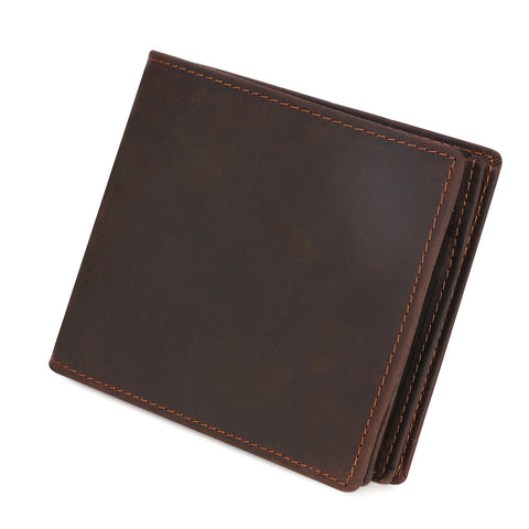 Kattee Mens Vintage Genuine Leather Bifold Wallet