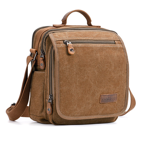 Plambag Canvas Messenger Crossbody Bag