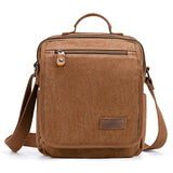 Plambag Canvas Messenger Bag Small Travel School Crossbody Bag