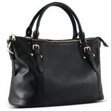 Plambag Large Tote Bag for Women, Faux Leather Handbag Purse
