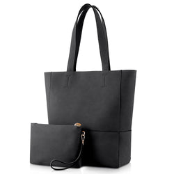 Plambag Shoulder Handbag with Removable Clutch