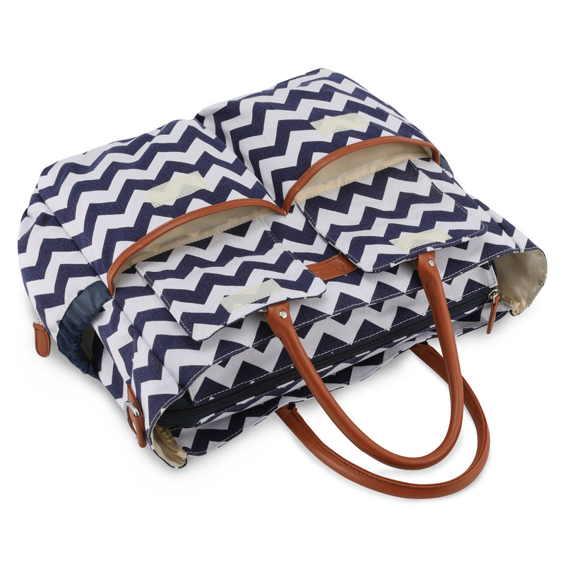 Kattee Women's Chevron Diaper Bag
