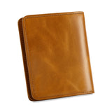 Kattee RFID Blocking Leather Bifold Small Wallet for Women
