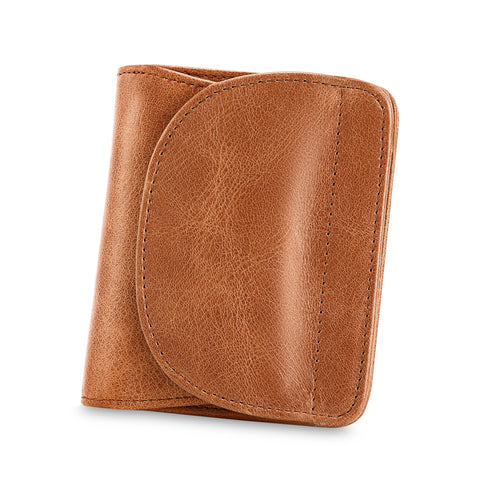 Kattee RFID Leather Bifold Wallet for women