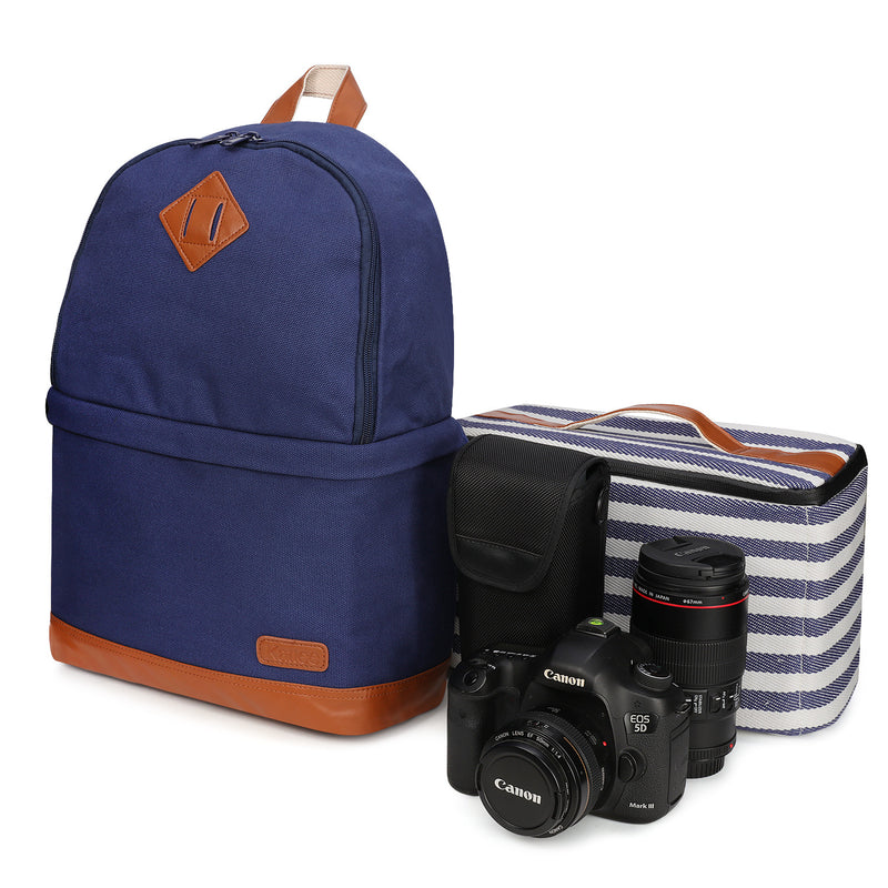 Kattee Professional Canvas Camera Backpack