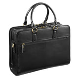 "Kattee Women's Leather Briefcase Messenger Bag 14"" Laptop Handbag"