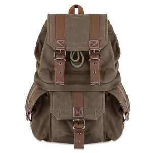 Kattee Men's Canvas Camera Backpack