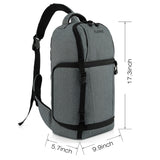 Kattee Waterproof DSLR Camera Bag Sling Backpack