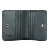 Kattee RFID Leather Bifold Wallet Coin Card Holder Small Purse for women