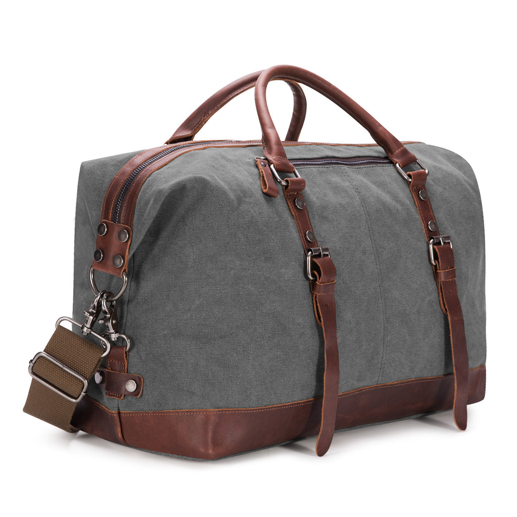 676cc5c7ef Canvas Mens Travel Duffle Bag