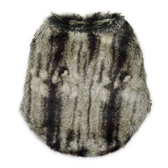 Sniffie Dog Fashion Dog Clothes Vest with Fun Fur