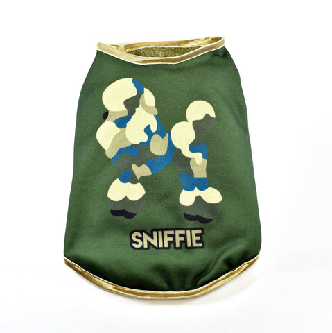 Sniffie Dog Fashion Dog Clothes Knitted Vest with Sequins
