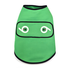 Sniffie Dog Fashion Dog Clothes Wet Suit Top Green