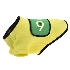 Sniffie Dog Fashion Dog Clothes Wet Suit Top Yellow