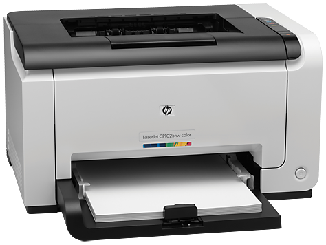 HP LaserJet Pro CP1025nw Color Printer CE918A
