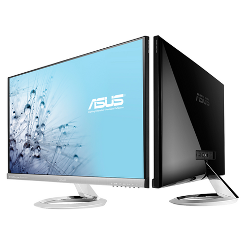 ASUS 23″ 16:9 Wide Screen Frameless IPS LED monitor (Silver + Black)