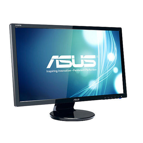 ASUS 23.6″ 16:9 Wide Screen LED monitor (Glossy Black)
