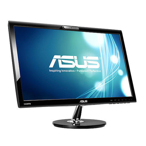 ASUS 21.5″ 16:9 Wide Screen WEBCAM LED monitor (Glossy Black)