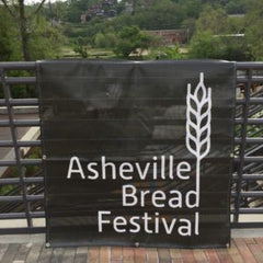 Asheville Bread Festival sign
