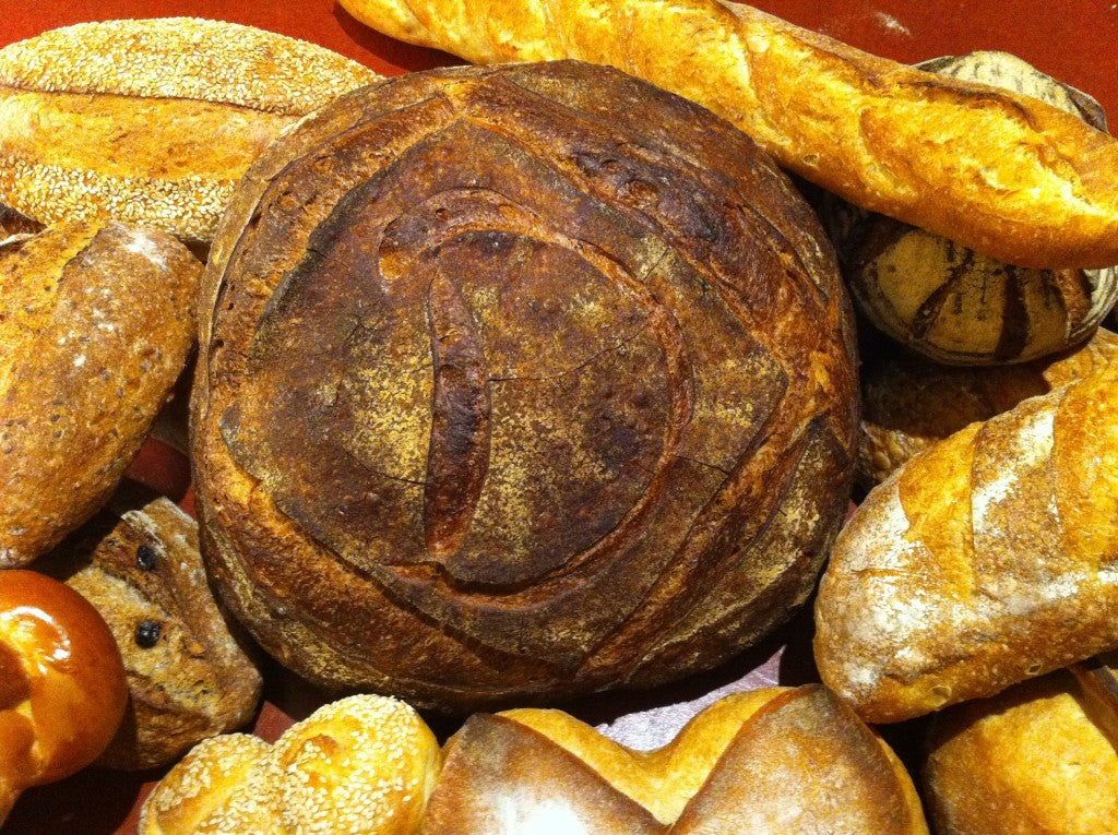 Selections of breads from SFBI