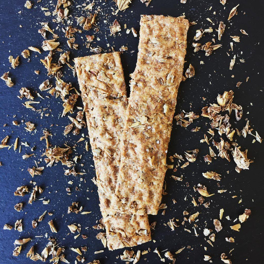 Honey Pecan Ale Crackers