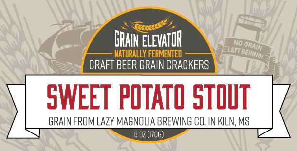 Sweet Potato Stout Crackers