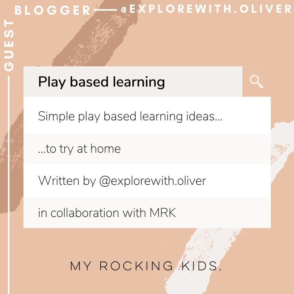 Simple play based learning ideas to try at home