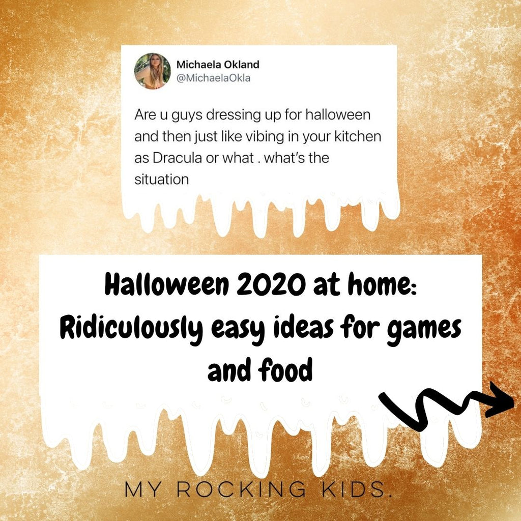Halloween at home: Ridiculously easy ideas for games and food