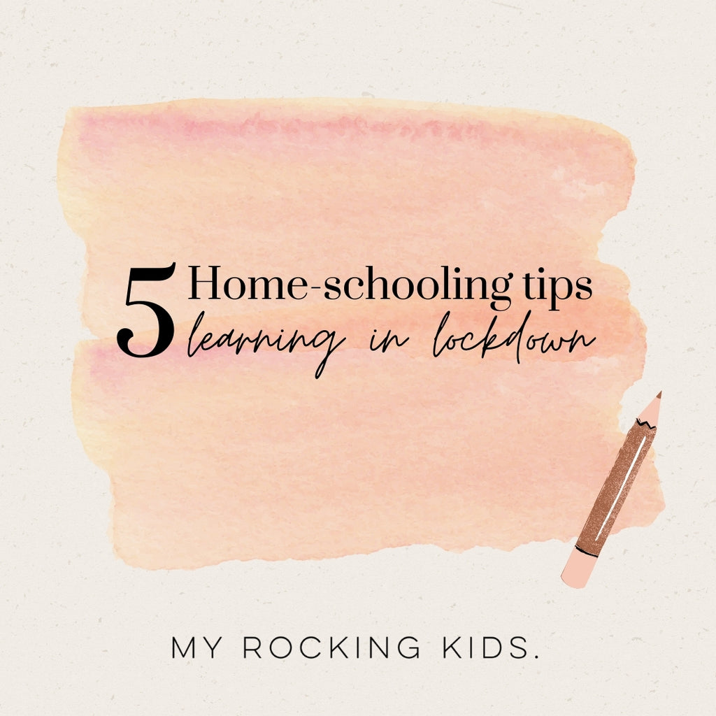 5 Home-schooling Tips - Learning in Lockdown 💖