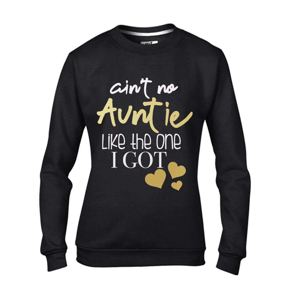 Ain't No Auntie Like Mine - Black/Gold Sweater (MRK X)