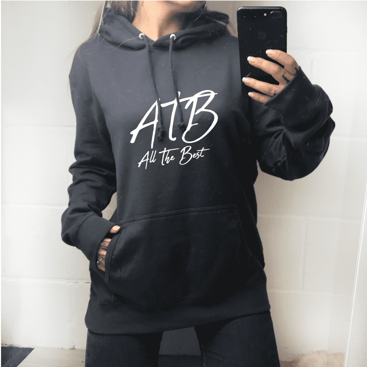 ATB (All The Best) Hinch Hoodie - Charcoal (MRK X)
