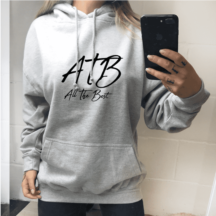 ATB (All The Best) Hinch Hoodie - Heather Grey (MRK X)