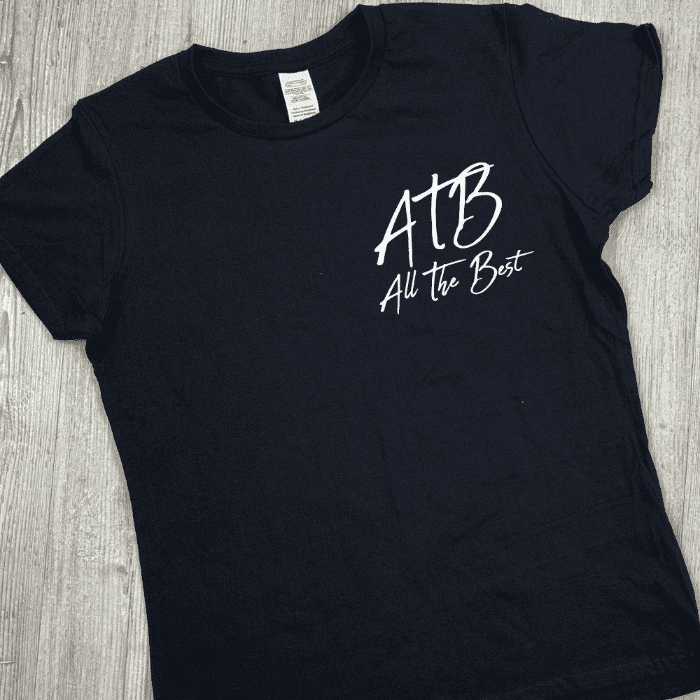 ATB (All The Best) Hinch Tee - Black (MRK X)