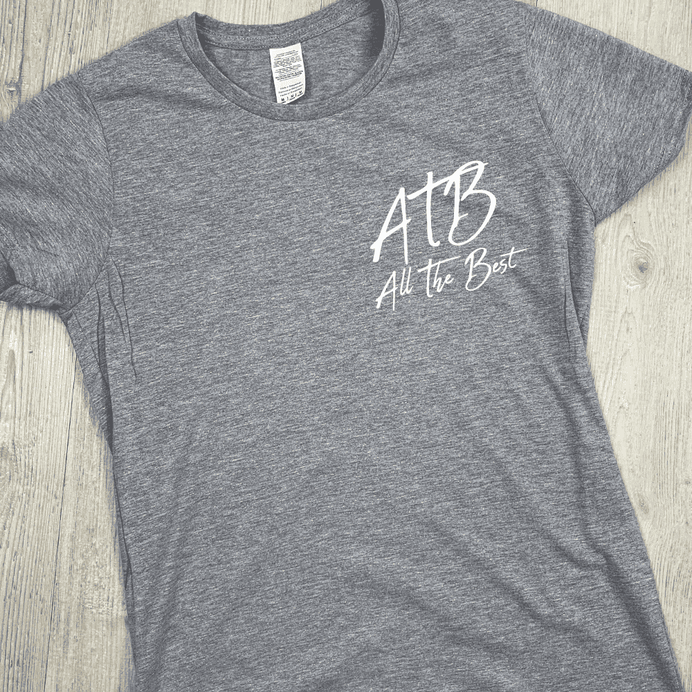 ATB (All The Best) Hinch Tee - Grey (MRK X)