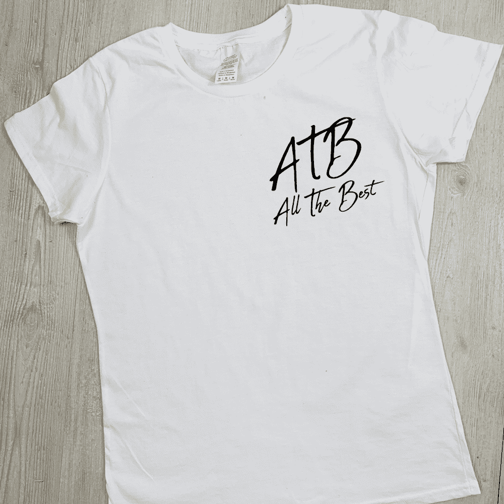 ATB (All The Best) Hinch Tee - White (MRK X)