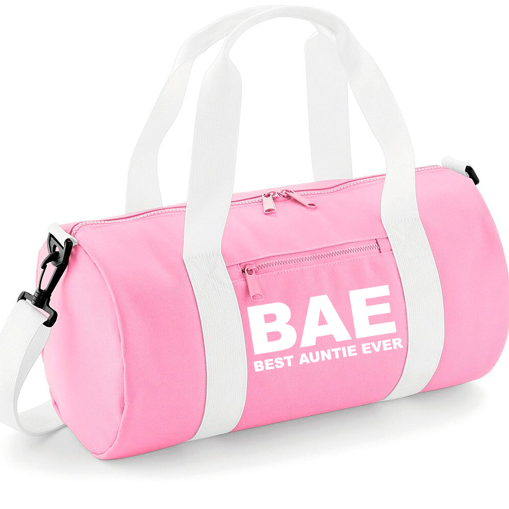 BAE (Best Auntie Ever) Mini-Barrel Bag (MRK X)