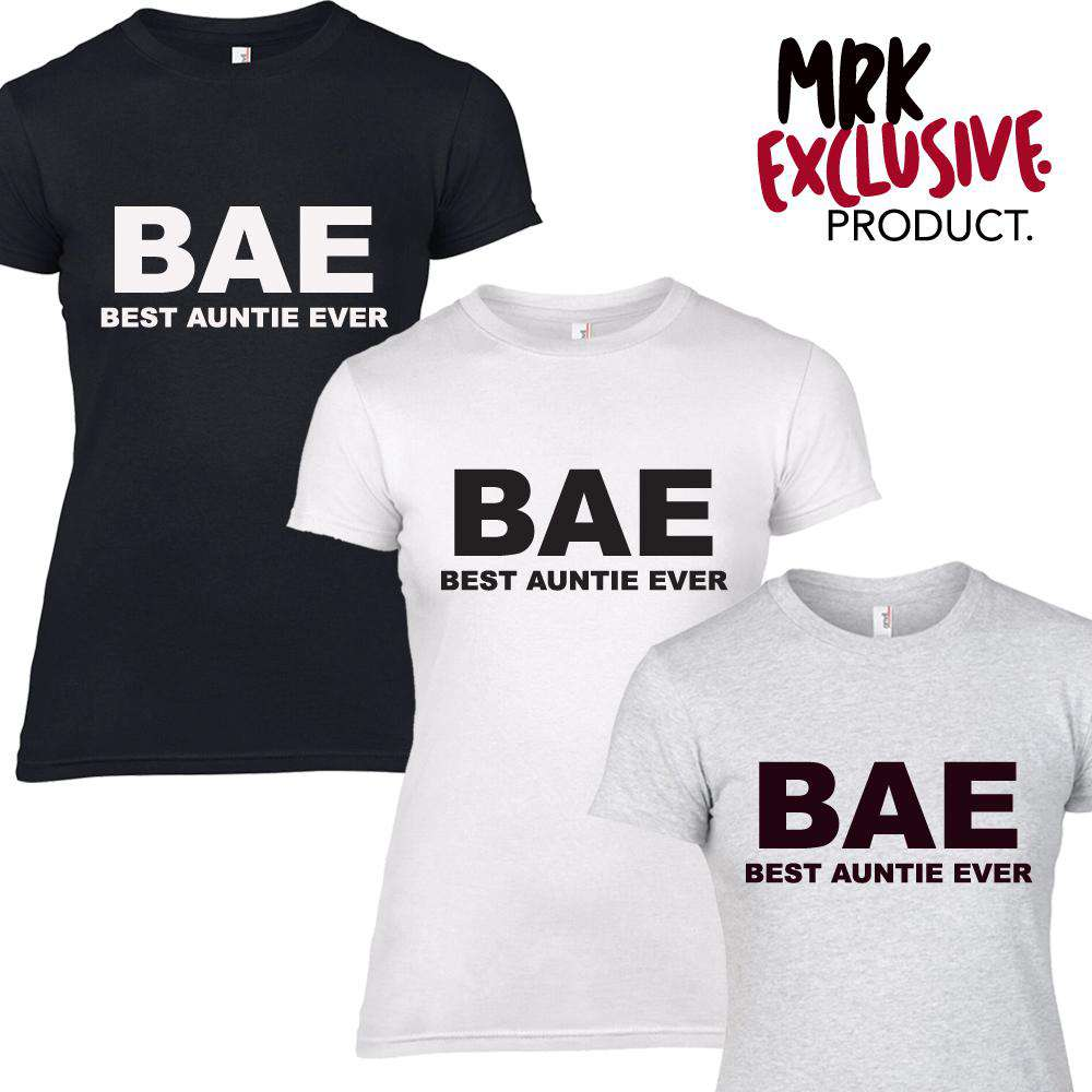BAE (Best Auntie Ever) Adult Tees (MRK X)