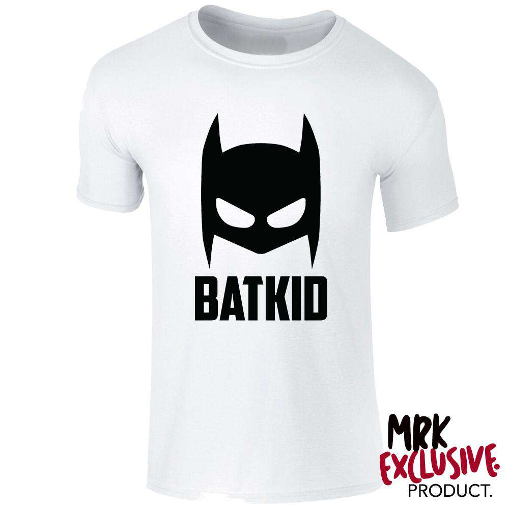 BATKID White Tee (0-13 Years) (MRK X)